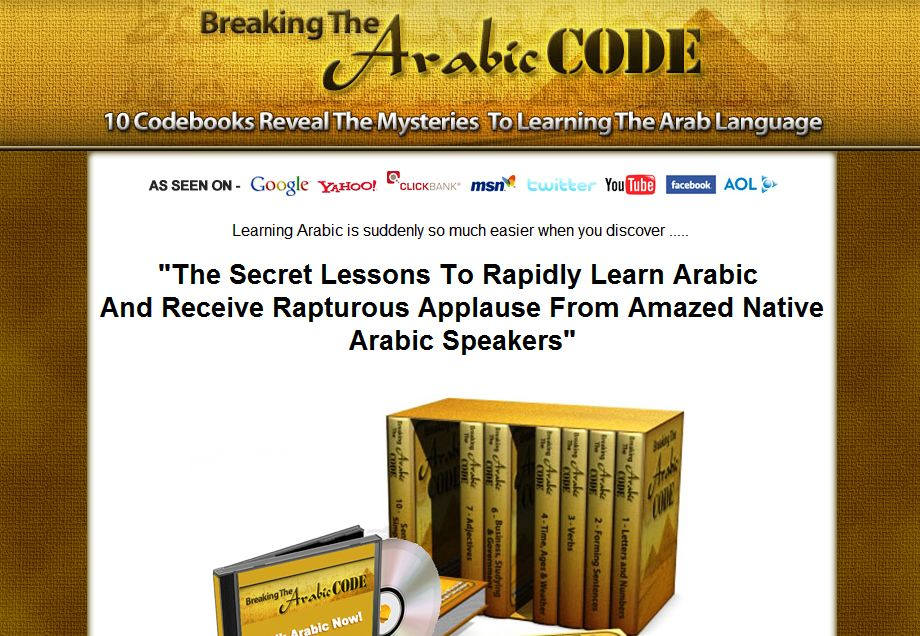 Breaking the Arabic Code