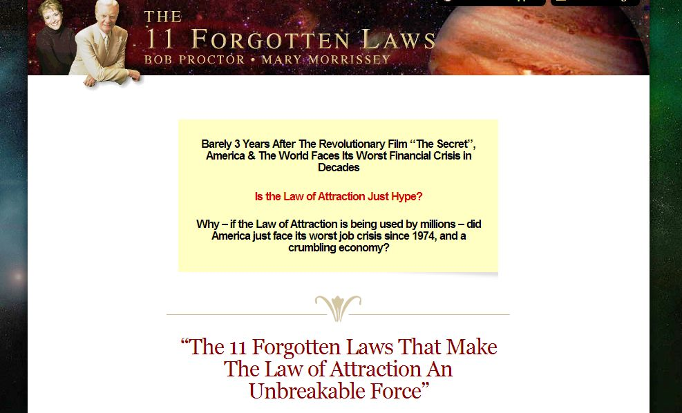 11 Forgotten Laws